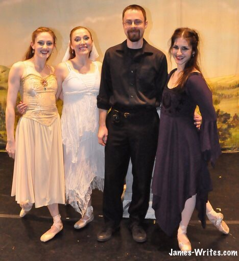 James Gummer, ballerina fanboy